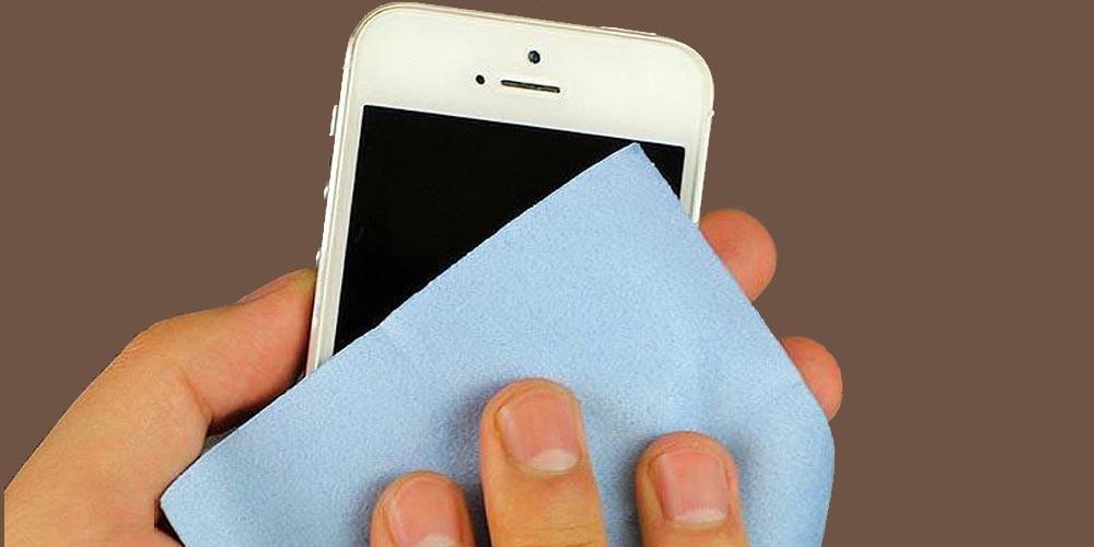تصليح شاشة الموبايل بمعجون الأسنان